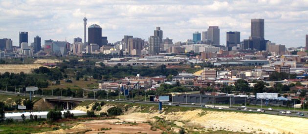 Gauteng Districts: Towns and Cities